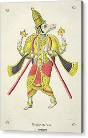 Varaha, Engraved By De Marlet Acrylic Print