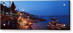 Varanasi, India Acrylic Print by Panoramic Images