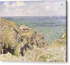Varengeville Gorge Acrylic Print by Claude Monet