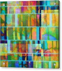 Variation On A Theme Abstract Art Acrylic Print by Ann Powell
