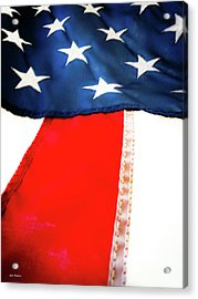 Variations On Old Glory No.1 Acrylic Print by John Pagliuca