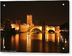 Varona Castel Vecchio Italy Acrylic Print by Isaac Silman