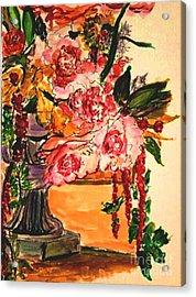 Acrylic Print featuring the painting Vartuhee by Helena Bebirian