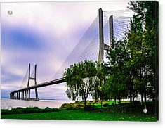 Vasco Da Gama Bridge I Acrylic Print