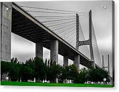 Vasco Da Gama Bridge II Acrylic Print