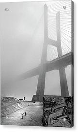 Vasco Da Gama Bridge - Lisbon Acrylic Print