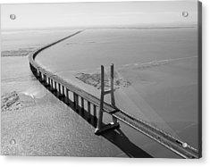 Vasco De Gama Bridge, Lisbon Acrylic Print