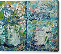 Vase And Demitasse Acrylic Print