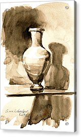 Vase Acrylic Print by Anna Lobovikov-Katz
