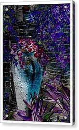 Acrylic Print featuring the photograph Vase by Athala Carole Bruckner