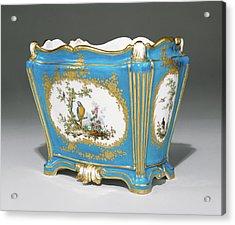 Vase Cuvette à Tombeau, Première Grandeur Painted Acrylic Print by Litz Collection