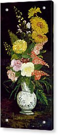 Vase Of Flowers, 1886 Acrylic Print by Vincent van Gogh