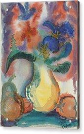 Vase Still Life 1 Acrylic Print