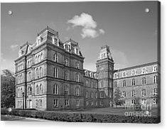 Vassar College Main Building Acrylic Print by University Icons