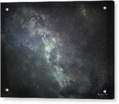 Acrylic Print featuring the photograph Vast Universe by Cynthia Lassiter