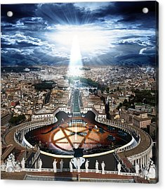 Vatican Rocking View Acrylic Print