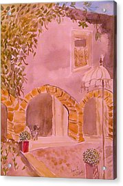 Vaucluse Provence Acrylic Print by Manuela Constantin