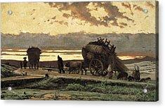 Vayreda I Vila, Joaquim 1843-1894 Acrylic Print by Everett
