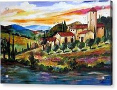 Vecchio Casale Acrylic Print
