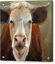 Veda Acrylic Print by Cari Humphry