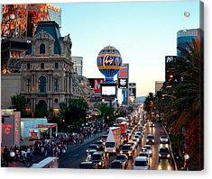 Vegas Baby Acrylic Print