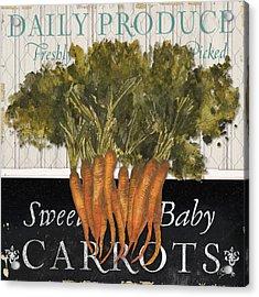 Vegetable Farm Fresh II Acrylic Print