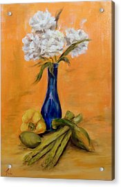 Vegetable Flower Still Life Acrylic Print