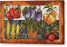Vegetables Farm Fresh Acrylic Print