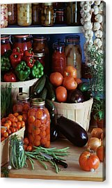 Vegetables For Pickling Acrylic Print