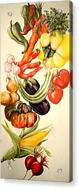 Vegetables No. 1 Acrylic Print