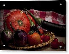 Vegetables Acrylic Print by Riccardo Livorni