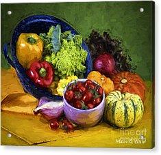 Veggie Bowl  Acrylic Print