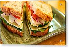 Veggie Sandwich Acrylic Print
