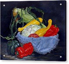 Veggies Acrylic Print