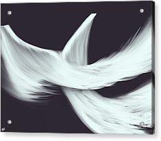 Veil Acrylic Print by Roxy Riou