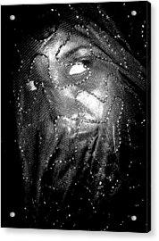 Veiled Female Acrylic Print