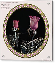 Veiled Love Acrylic Print