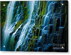 Veiled Wall Acrylic Print by Inge Johnsson