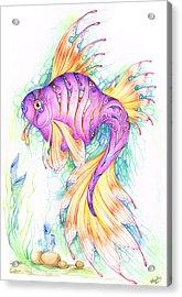 Veiltail Fairy Fish Acrylic Print
