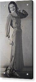 Velma Zerline Russell Acrylic Print