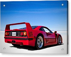 Veloce Equals Speed Acrylic Print