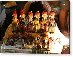 Vendors - Night Street Market - Chiang Mai Thailand - 011329 Acrylic Print by DC Photographer
