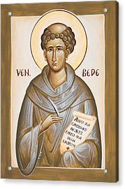 Venerable Bede Acrylic Print by Julia Bridget Hayes
