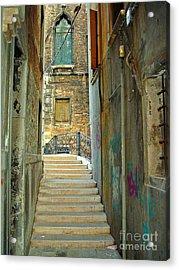 Venetian City Of Bridges Acrylic Print