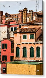 Venetian Facade Acrylic Print
