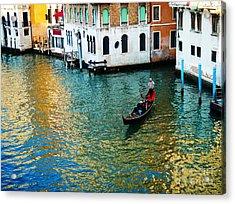 Venetian Gondola Acrylic Print
