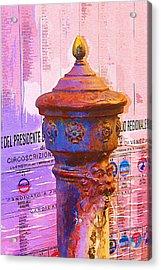 Venetian Life Acrylic Print