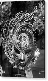 Venetian Mask Acrylic Print by Tom Bell