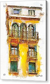 Radiant Abode Acrylic Print by Greg Collins