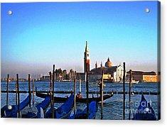 Venezia City Of Islands Acrylic Print